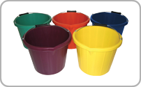 Coloured Buckets